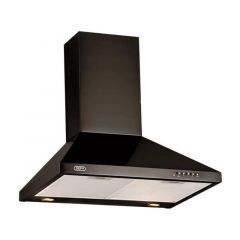 Defy DCH310 600mm Black Chimney Extractor