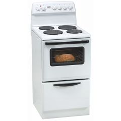 Defy DSS505 500mm White 4 Plate Free Standing Oven