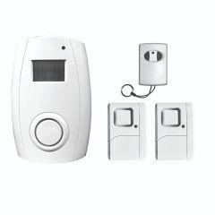 DigiTech Wireless Motion Sensor Alarm With Remote Control & Window / Door Magnetic Contact