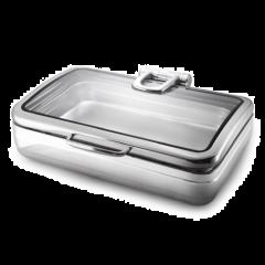 Snappy Chef ECRC011 11.2L Elite Rectangular Chafing Dish
