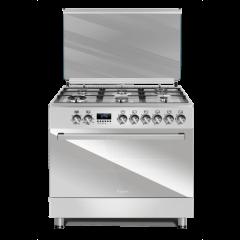 Ferre F9S60E6.PI 2020 900mm Inox 6 Burner Premium Gas/Electric Freestanding Oven