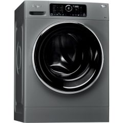 Whirlpool FSCR 90426 9KG Silver Front Loader Washing Machine