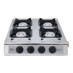 Alva GCS10 4 Burner Gas Stainless Steel Stove