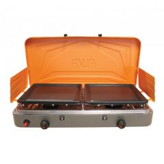 Alva GCS09 2 Burner Stainless Steel Gas Stove With Solid Plates