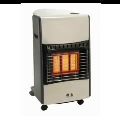 Alva GH313 Cream/Black Luxurious 3 Panel Infrared Radiant Gas Heater
