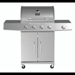 Alva GSS4B01 Kalahari 4 Burner Gas Stainless Steel Braai