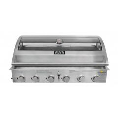 Alva GSS6BTT Gobi 6 Burner Stainless Steel Build-In Gas Braai