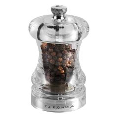 Cole & Mason H12501P 85mm Precision Clear Pepper Mill