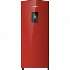 Hisense H230RRE-WD 185L Red Bar Fridge with Water Dispenser