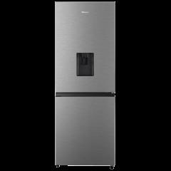 Hisense H310BI-WD 222L Inox Combi Fridge/Freezer with Water Dispenser