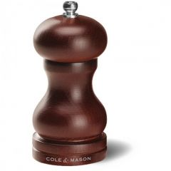Cole & Mason HB0444P 120mm Forest Capstan Wood Pepper Mill