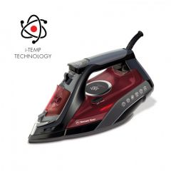 Bennett Read HIR210 2400W Red i-Temp Steam Iron