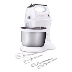 Moulinex HM3121B1 300W White Quick Mix Bowl Mixer