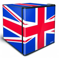 Stingray BC-46U 46L Union Jack Counter Top Mini Fridge