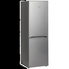KIC KBF 525/1 ME 239L Metallic Combi Fridge/Freezer
