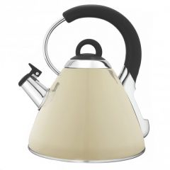 Snappy Chef KEBE002 2.2L Beige Cordless Whistling Kettle