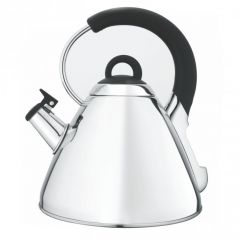 Snappy Chef KESI002 2.2L Silver Cordless Whistling Kettle