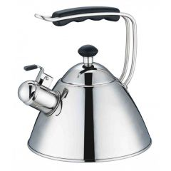 Swiss Appliances KET2000S 2L Stainless Steel Cordless Whistling Kettle