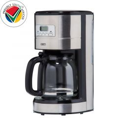 Defy KM630S 1000W Inox Drip Coffee Machine