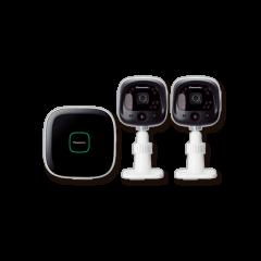 Panasonic KX-HN6002SAW DIY Indoor/Outdoor Home Surveillance Camera Kit