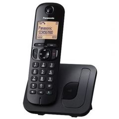 Panasonic KX-TGC210SAB Black Digital Cordless Phone