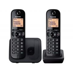 Panasonic KX-TGC212SAB Digital Cordless Phone with 2 Handsets