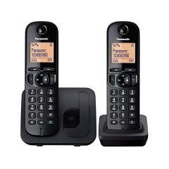 Panasonic KX-TGC212SAB Digital Cordless Phone with 2 Handsets