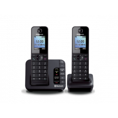 Panasonic KX-TGH262SAB Cordless Bluetooth Phone
