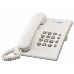 Panasonic KX-TS500SAW White Corded Telephone