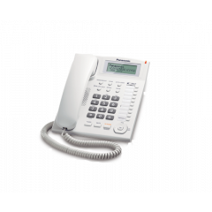 Panasonic KX-TS880SAW White Corded Telephone