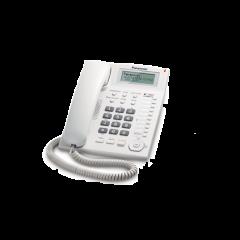 Panasonic KX-TS880SAW White Corded Telephone