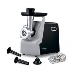 Moulinex ME542810 2000W Black VH7 6 In 1 Meat Mincer