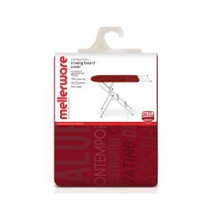 Mellerware MELIBL1C Red 100% Cotton Top Ironing Board Cover