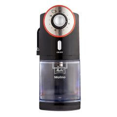 Melitta 6741433 Black Molino Electric Coffee Bean Burr Grinder