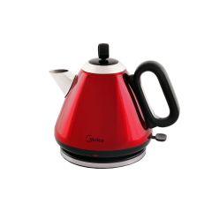 Midea MK-17S26C2-R 1.7L Red Teapot Style Cordless Kettle