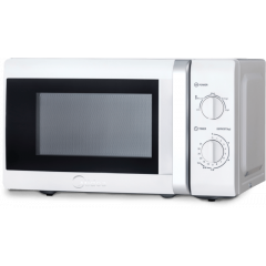 Midea MM720CTB-W 20L White Manual Microwave
