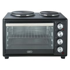 Defy MOH9328B 30L Black Mini Oven Hot Plate