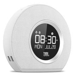 JBL OH1976 White Horizon Bluetooth Clock Radio