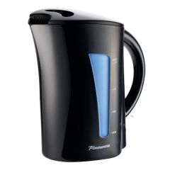 Pineware 853432 1.7L Black Automatic Corded Kettle