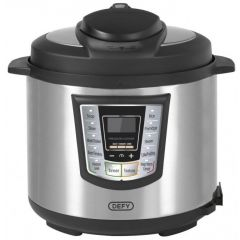 Defy PC600S 6L Stainless Steel Pressure Cooker