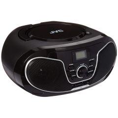 JVC RD-N327 Black Portable CD Bluetooth Speaker