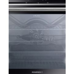 Rosieres RFAZ7673IN/1-E 60cm Black/Inox WiFi Multifunction Sublime Oven