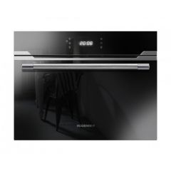 Rosieres RMCS 550X 60cm Black/Inox 44L Microwave Sublime Premium Compact Oven
