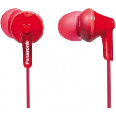Panasonic RP-HJE125E-R Red Ergofit Wired Earphone