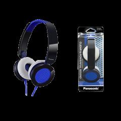 Panasonic RP-HXS200E-A Blue Stereo Headphones
