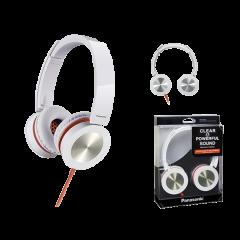 Panasonic RP-HXS400E-W White Stereo Headphones