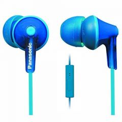 Panasonic RP-TCM125E-A Blue Ergofit Wired Earphone