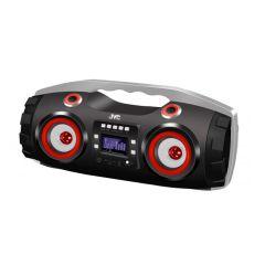 JVC RV-NB22BT Black Bluetooth Portable CD Player