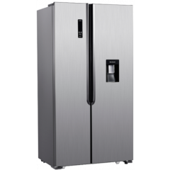 AEG RXB55211NX 514L Stainless Steel Side-By-Side Fridge With Water Dispenser