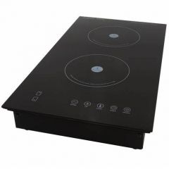 Snappy Chef SCD003 300mm Black 2 Plate Induction Hob